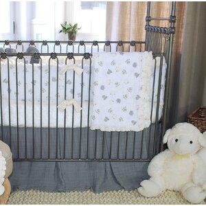 Lambie Tales 3 Piece Crib Bedding Set
