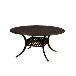 Aldrich Metal Dining Table by California Outdoor Designs
