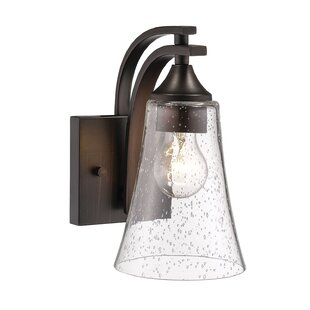 Inexpensive Elaina 1-Light Armed Sconce By Charlton Home