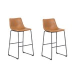 Northerly 29 Bar Stool (Set of 2) by 17 Stories