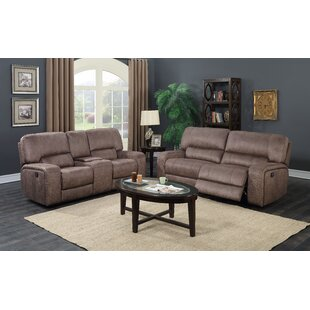 Casilla 2 Piece Reclining Living Room Set