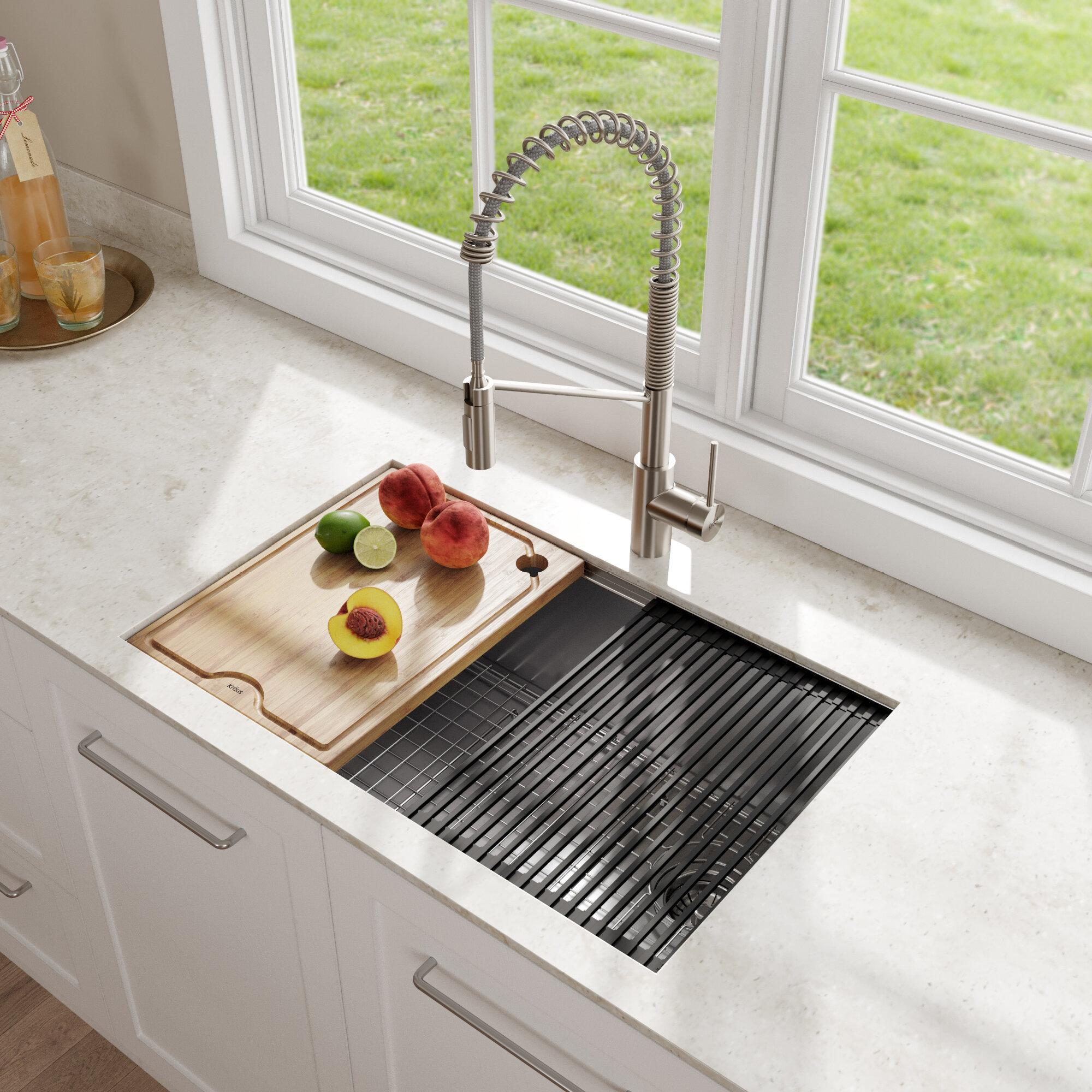 Kitchen Sinks Up To 60 Off Through 01 19 Wayfair