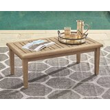 Gundrath Wooden Coffee Table