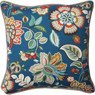 Telfair Peacock Indoor/Outdoor Throw Pillow (Set of 2)