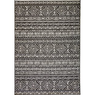 Pennock Gray Indoor/Outdoor Area Rug