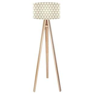 Shabby chic lamp wayfair paris chic 140cm tripod floor lamp mozeypictures Images