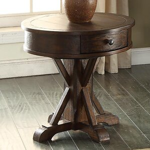 ECI Furniture Gettysburg End Table With Storage