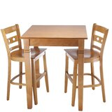 Ewell 3 Piece Counter Height Pub Table Set by Red Barrel Studio®