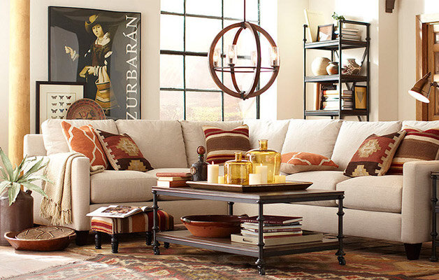 Rustic Living Room Makeover For $500 | Wayfair