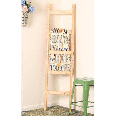 BrandtWorksLLC 6 ft Blanket Ladder Color: Pine