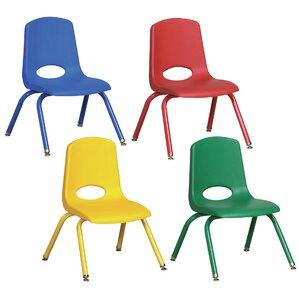 stackable preschool chairs you'll love | wayfair