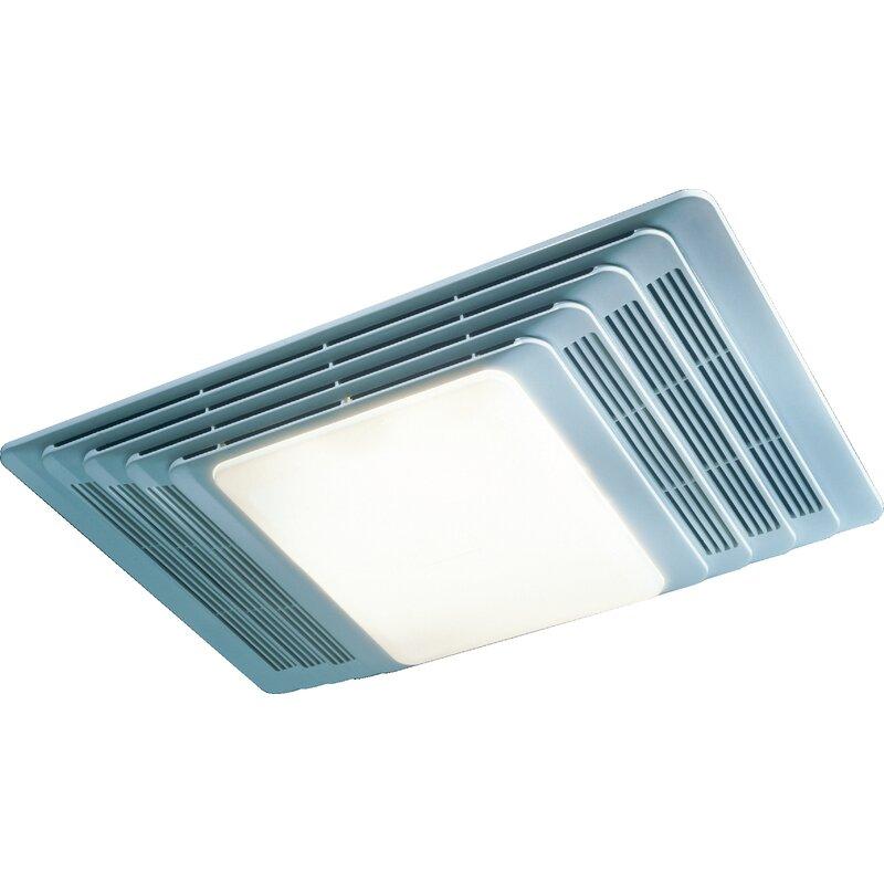 100 Cfm Bathroom Fan With Light