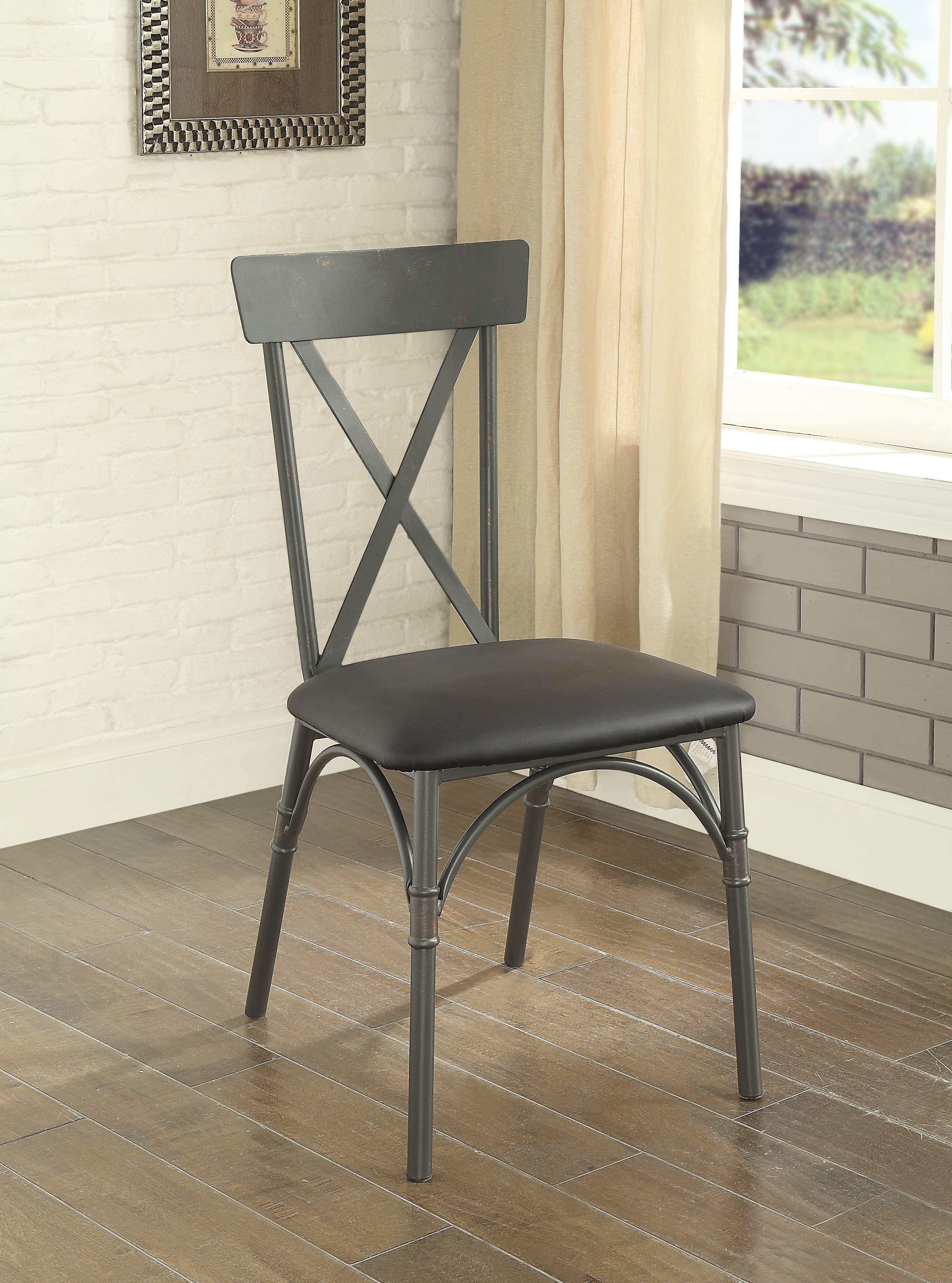 17 Stories Christofor Upholstered Dining Chair Wayfair