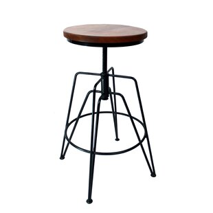 Affordable GregoryAdjustable Height Swivel Bar Stool by Gracie Oaks Reviews (2019) & Buyer's Guide