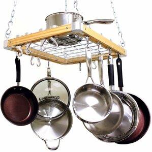 Hanging Pots And Pans On Wall pot racks you'll love | wayfair