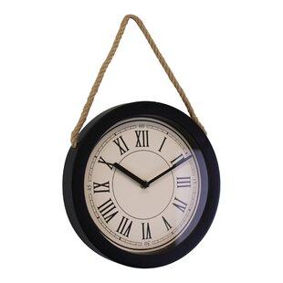 Rope Wall Clocks You Ll Love Wayfair Co Uk