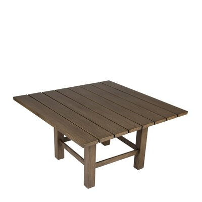 Augusta Metal Coffee Table by Woodard Modern