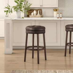 Saundra Swivel Bar Stool Birch Lane™ Heritage