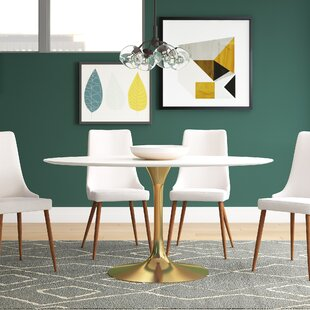Julien Oval Dining Table by Langley Street Cheap
