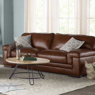Grand Isle Genuine Leather Sofa