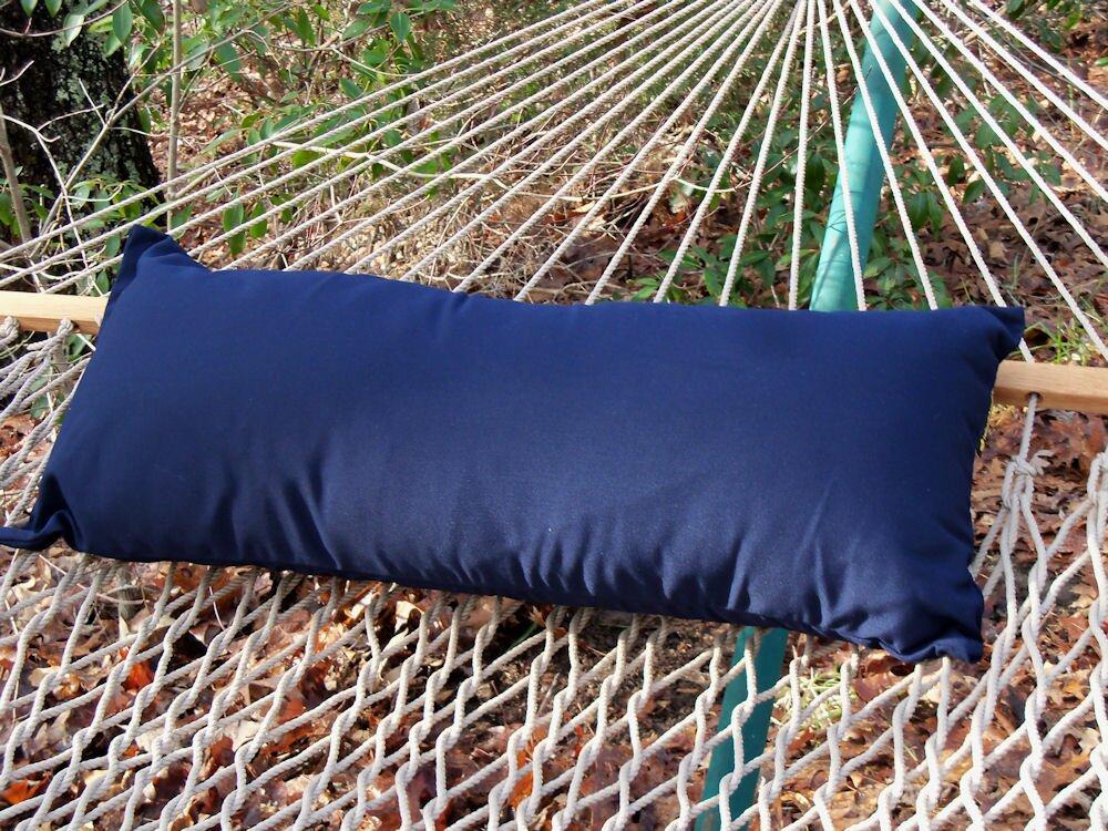 default_name - Twin Oaks Hammocks Sunbrella Hammock Outdoor Lumbar Pillow
