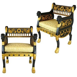 Caesar's Armchair (Set of 2)