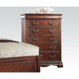 Conn Wooden 5 Drawer Chest by Alcott Hill®