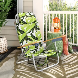 Tosca Aluminum Frame 2-in-1 Patio Sling Beach Chair
