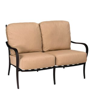 Apollo Loveseat with Cushion by Woodard