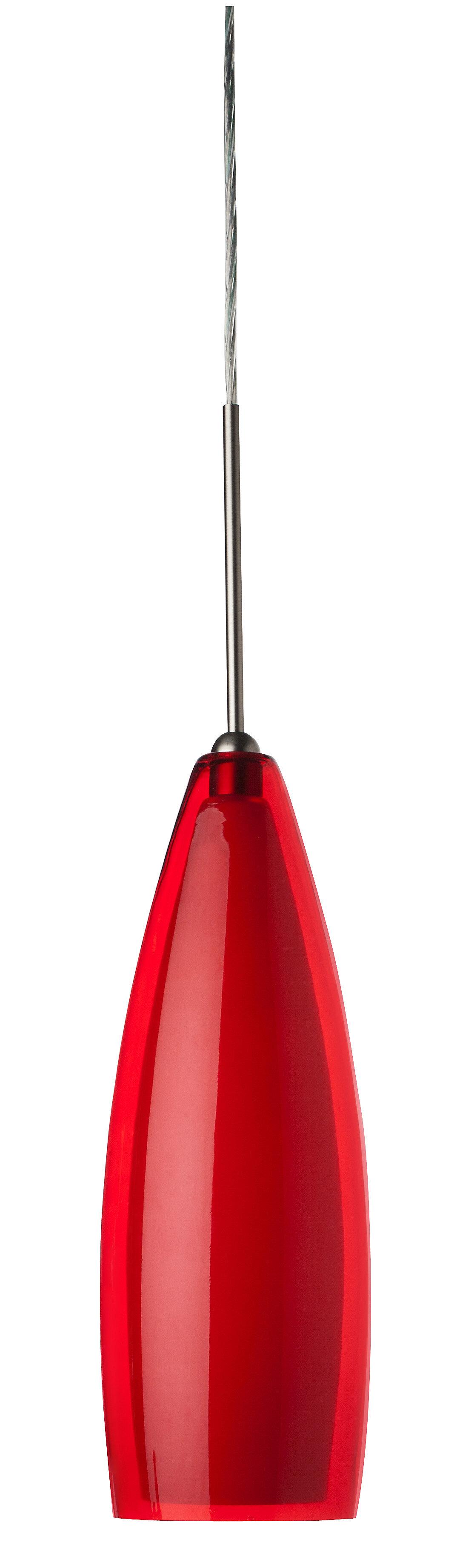 Red Shade Orren Ellis Pendant Lighting You Ll Love In 2021 Wayfair