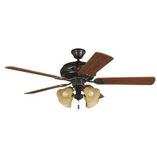 Order 52 Troupsburg 5-Blade Ceiling Fan By Alcott Hill