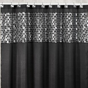 Big Save Mosaic Stone Shower Curtain BySweet Home Collection