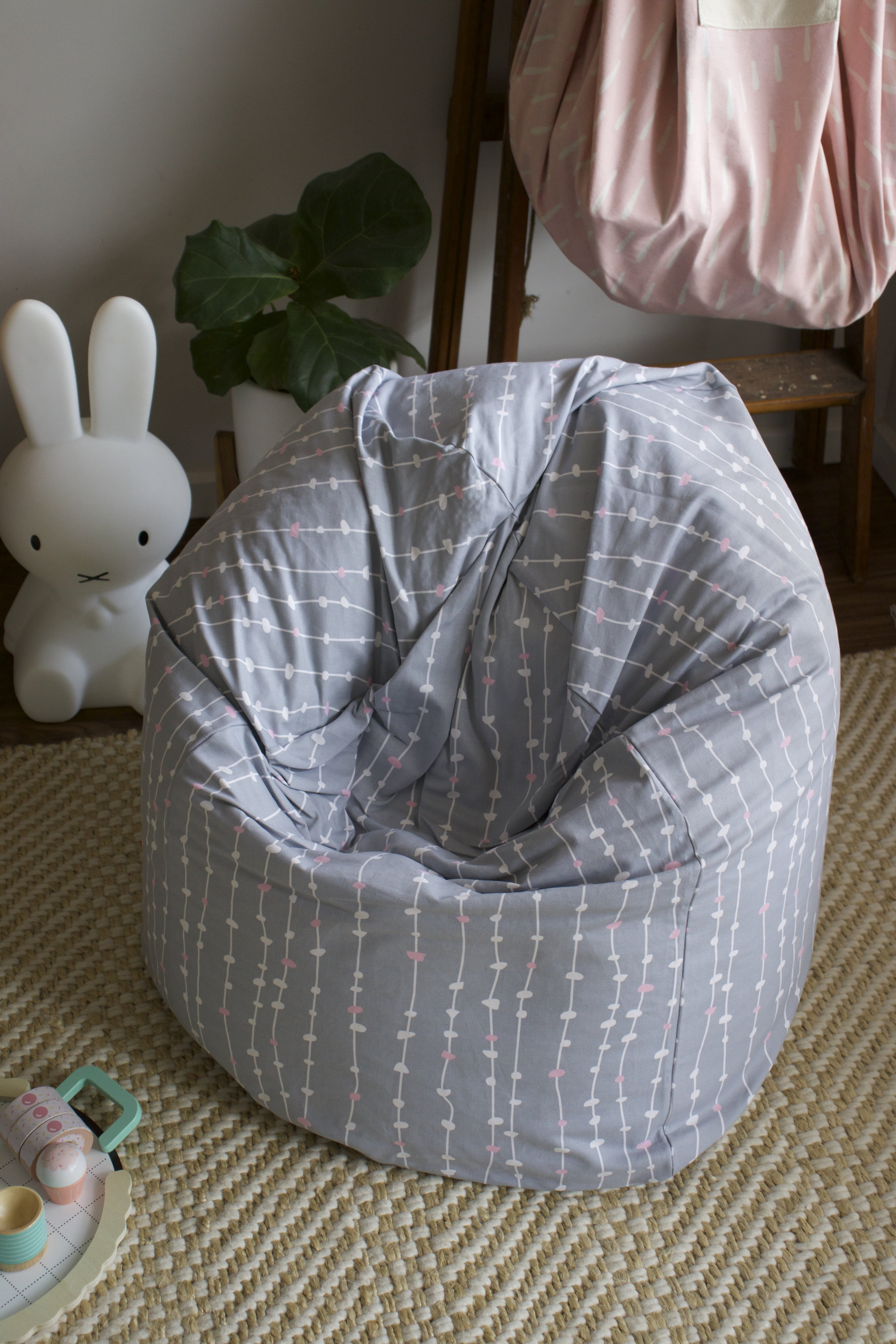 Isabelle Max Pepples Small 100 Cotton Bean Bag Cover Wayfair