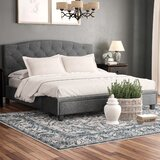 Islais Tufted Upholstered Low Profile Storage Platform Bed by Red Barrel Studio®