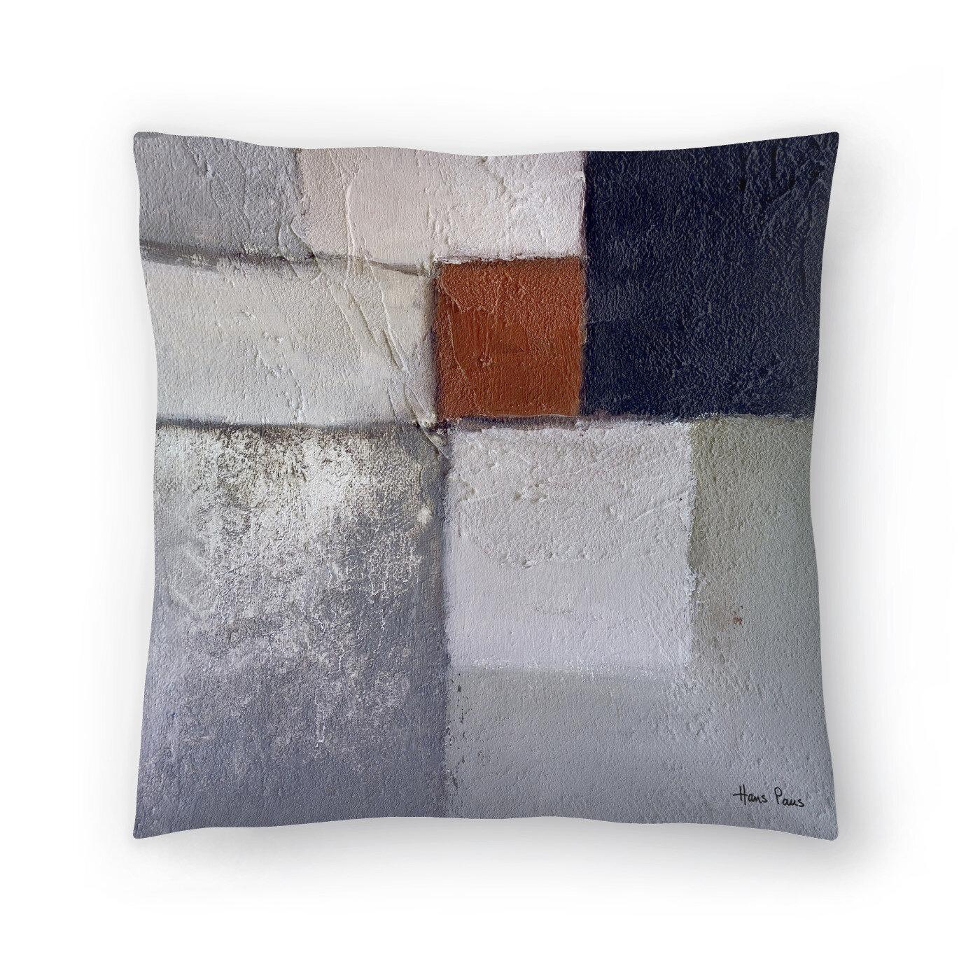 East Urban Home Hans Paus Concrescence 5 Throw Pillow Wayfair