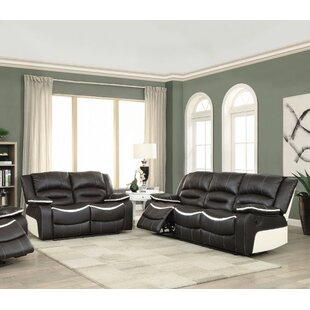 Inexpensive Muniz Reclining Motion 2 Piece Living Room Set by Ebern Designs Reviews (2019) & Buyer's Guide
