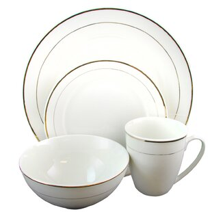 Shiela 16 Piece Dinnerware Set, Service for 4