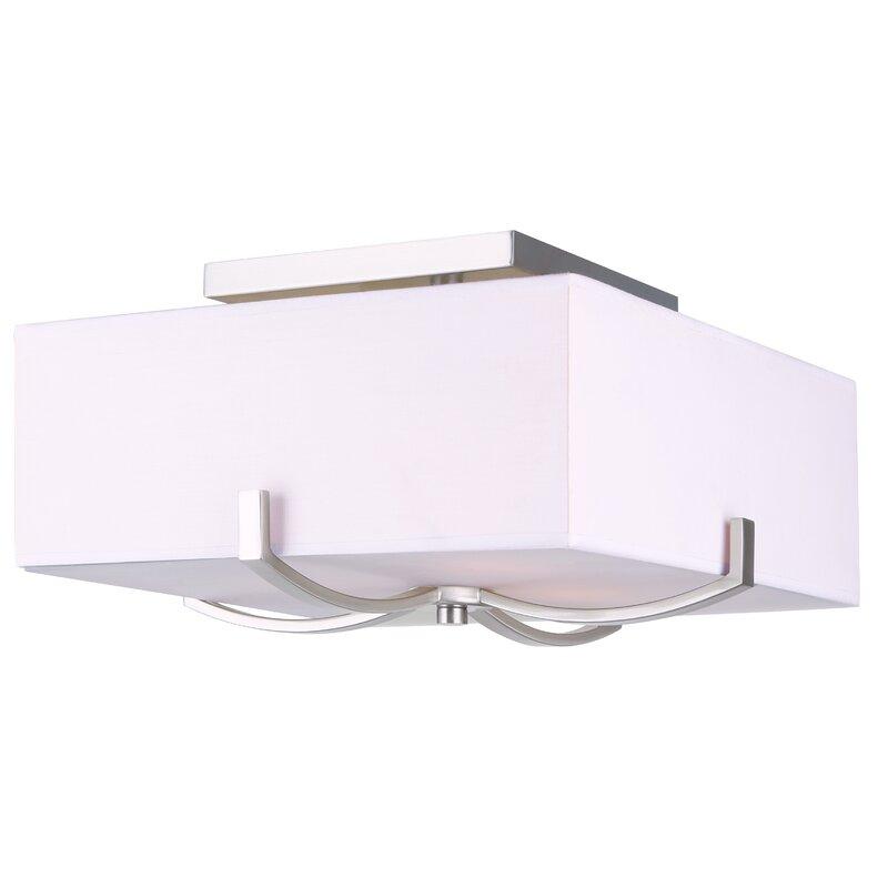 Brayden Studio Soho 3-Light Flush Mount