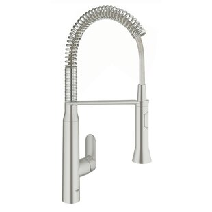Review K7 Single Handle Kitchen Faucet with SilkMove® by Grohe