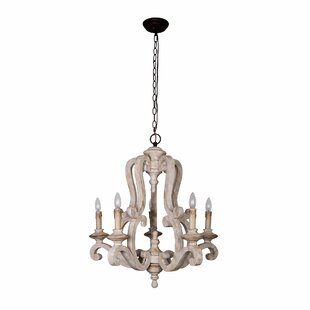 French country chandeliers youll love wayfair bella 5 light chandelier aloadofball Images