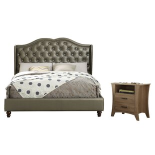 Overstreet Queen Panel Configurable Bedroom Set