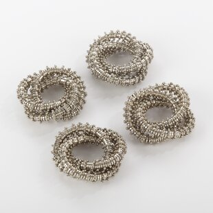 Bejeweled Napkin Ring (Set of 4)