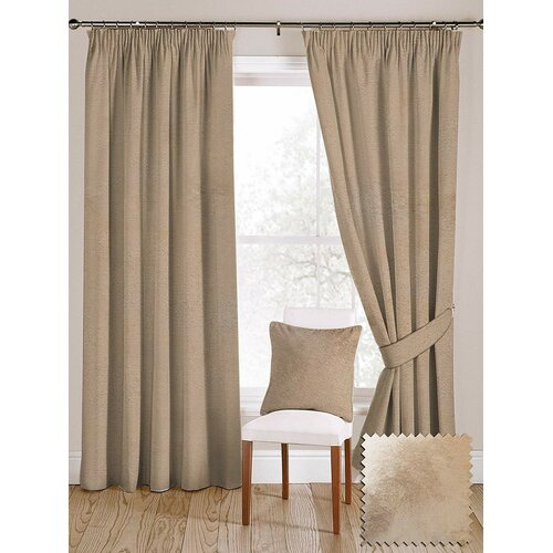 Meredith Pencil Pleat Blackout Thermal Curtains Rosalind Whe