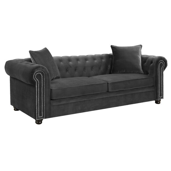 Curved Chesterfield Sofa | Wayfair