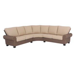 Pacific Shoreline Patio Sectional with Cushions