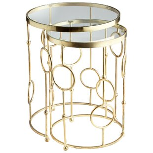 Perseus 2 Piece Nesting Tables