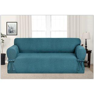 Beau Aqua Sofa Cover | Wayfair