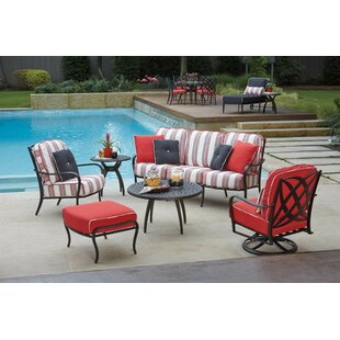 Apollo 7 Piece Sofa Seating Group with Cushions