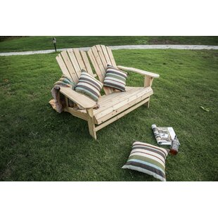 Melcher Wood Adirondack Chair