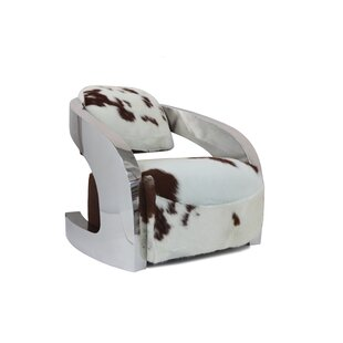 Brown Cow Hide Chair | Wayfair
